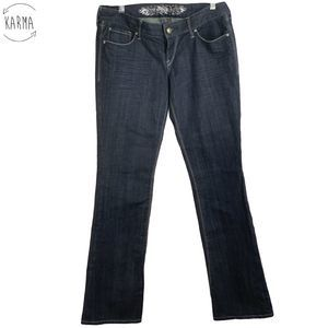 Express Barely Boot Jeans Womens Size 8 B11